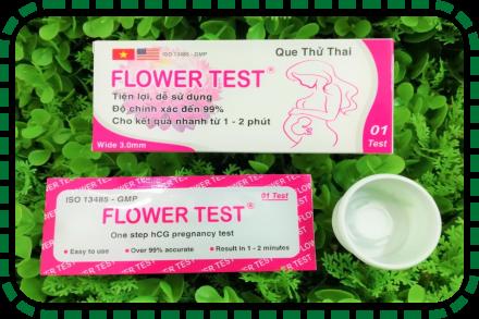 Vì sao nên chọn que thử thai Flower Test ?